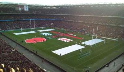 Twickenham Stadium section EAST UPPER