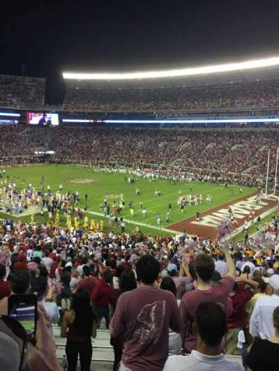 Bryant-Denny Stadium, section: MM, row: 51, seat: 8