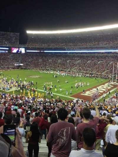Bryant-Denny Stadium section MM