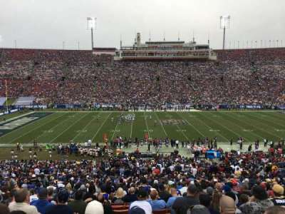 Los Angeles Memorial Coliseum, section: 23H, row: 48, seat: 108