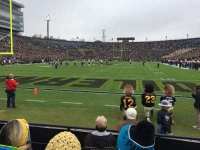 Ross-Ade Stadium, section: 33, row: 5, seat: 12