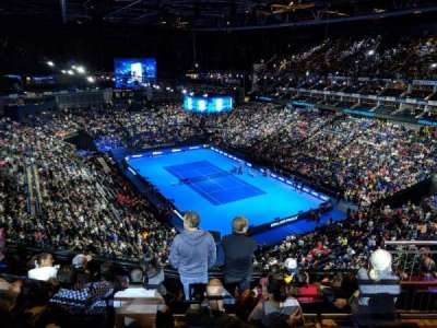 The O2 Arena, section: 409, row: G, seat: 648