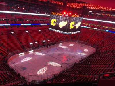 Little Caesars Arena, section: 216, row: 5, seat: 1