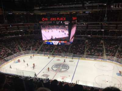 Rogers Place, section: 201, row: 6, seat: 14