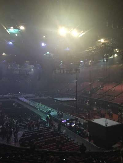 The Forum, section: 234, row: 8, seat: 14