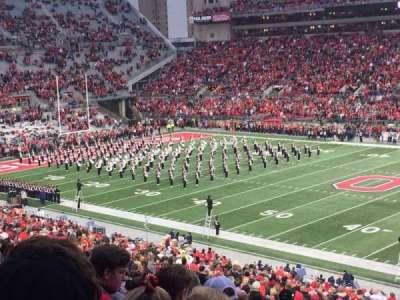 Ohio Stadium, section: 16A, row: 34, seat: 20
