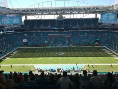 Hard Rock Stadium, section: 318, row: 27, seat: 10
