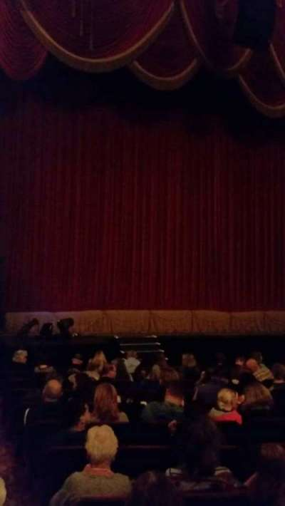 Providence Performing Arts Center, section: Left Ochestra, row: N, seat: 1