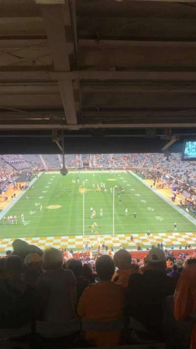 Neyland Stadium, section: Y8, row: 57, seat: 19
