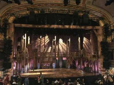 Richard Rodgers Theatre, section: Center Orchestra, row: P, seat: 111