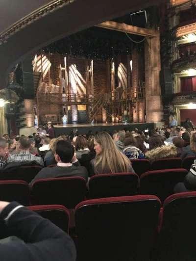 CIBC Theatre, section: Orchestra L, row: T, seat: 13