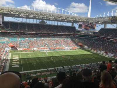 Hard Rock Stadium, section: 350, row: 21, seat: 13
