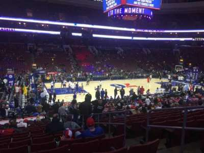Wells Fargo Center, section: 123, row: 19, seat: 13