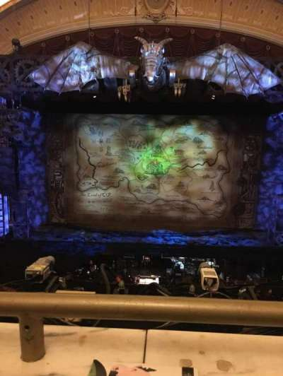 KeyBank State Theatre, section: Loge C, row: A, seat: 605