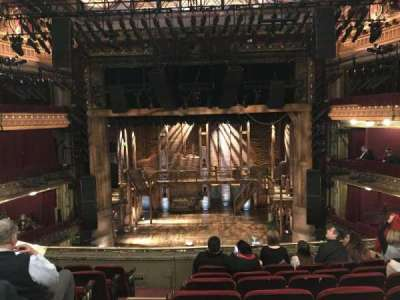 CIBC Theatre, section: Mezzanine RC, row: G, seat: 302