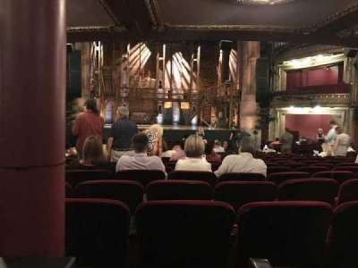 CIBC Theatre, section: Orch LC, row: X, seat: 109
