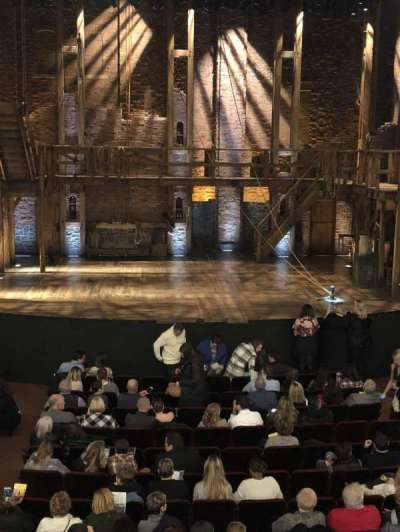 CIBC Theatre, section: Dress circle, row: A, seat: 205