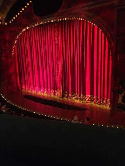 Shubert Theatre, section: Mezzanine, row: A, seat: 18