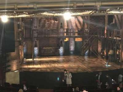 CIBC Theatre, section: Dress Circle LC, row: C, seat: 25