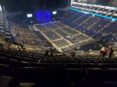 The O2 Arena, section: 409, row: U, seat: 401