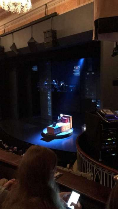 Music Box Theatre, section: Mezzanine, row: B, seat: 26