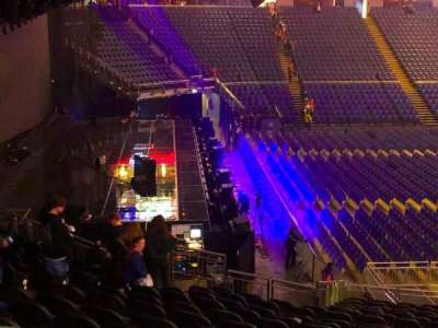 The O2 Arena, section: 118, row: ZZ, seat: 8