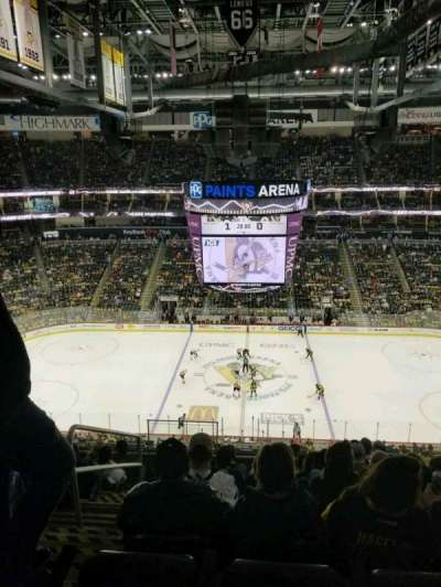 PPG Paints Arena, section: 219, row: J, seat: 13