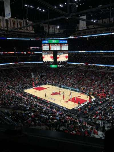 United Center, section: 314, row: 2, seat: 3