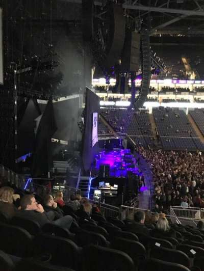 The O2 Arena, section: 118, row: X, seat: 12