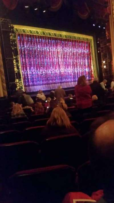 Providence Performing Arts Center, section: ORCH LFT, row: R, seat: 23