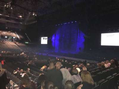 Arena Birmingham, section: 2 Lower, row: L, seat: 61