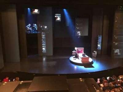 Music Box Theatre, section: Center Mezzanine, row: A, seat: 111