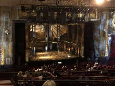 Hollywood Pantages Theatre section MEZZLC
