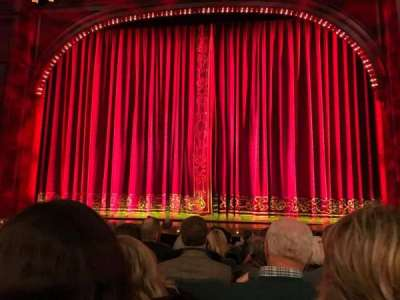 Shubert Theatre, section: Orchestra, row: K, seat: 104