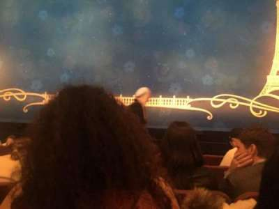 Broadhurst Theatre, section: CORC, row: E, seat: 111