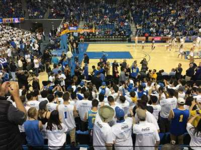 Pauley Pavilion, section: 116, row: 3, seat: 10