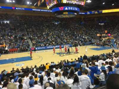 Pauley Pavilion, section: 116, row: 3, seat: 11