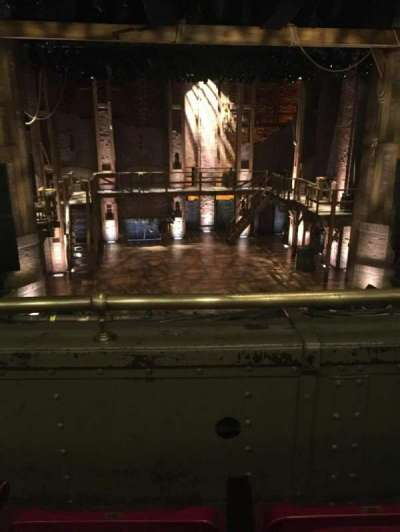 CIBC Theatre, section: Mezzanine RC, row: B, seat: 307