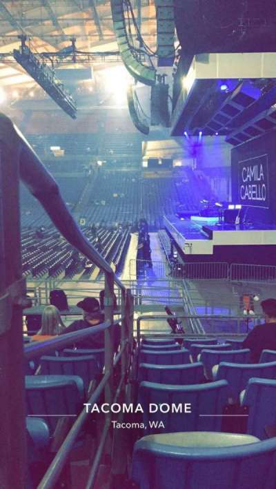 Tacoma Dome, section: 9A, row: 19, seat: 15