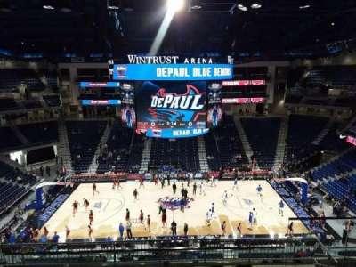 Wintrust Arena, section: 225, row: K, seat: 8