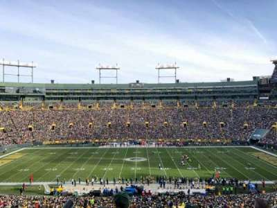 Lambeau Field, section: 326, row: 2, seat: 10