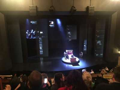 Music Box Theatre, section: Mezzanine Center, row: E, seat: 112