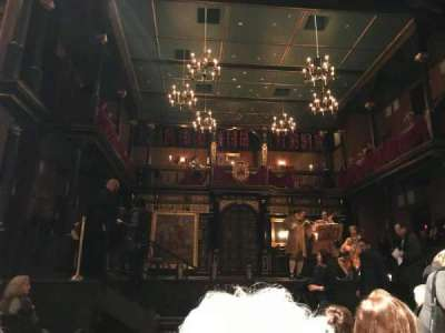 Belasco Theatre, section: Center Orchestra, row: G, seat: 104