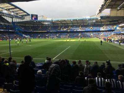 Stamford Bridge, section: Shed lower, row: 13, seat: 0059