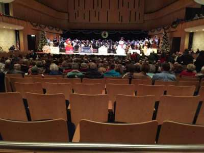 Holland Performing Arts Center, section: Orchestra circle, row: AAA, seat: 112
