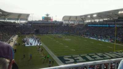 StubHub Center, section: 324, row: BB, seat: 4
