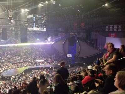 Van Andel Arena, section: 224, row: M, seat: 5