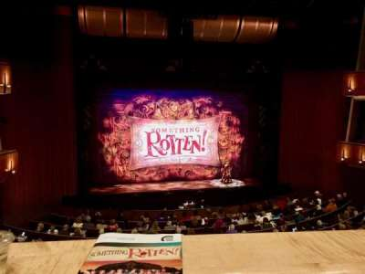 Ahmanson Theatre, section: Mezzanine, row: A, seat: 31