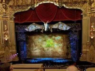 Oriental Theatre, section: LOGE-C, row: C, seat: 308