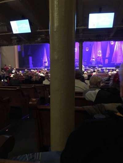 Ryman Auditorium, section: MF-4, row: U, seat: 11